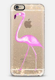 FLAMINGO & SPARKLES by Monika Strigel iPhone 6 case by Monika Strigel   Casetify
