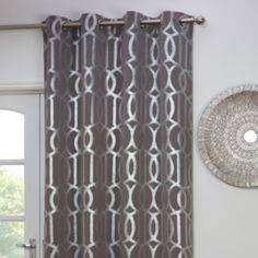 Navy and cream curtains | Love your Living Room | Navy ...