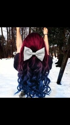 Greatest hair color EVER !!