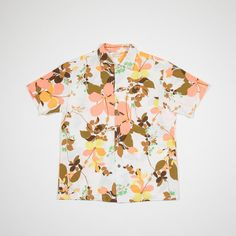 50s Hawaiian short sleeved shirt by MillesimeCollection on Etsy