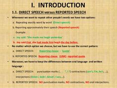 Forum | . | Fluent LandDirect and Reported Speech | Fluent Land