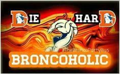 Until I die! Denver Broncos Football, Go Broncos, Broncos Fans, Denver Broncos Wallpaper, Broncos Cheerleaders, Nfl, Different Sports, Party Bus, Home Team