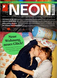 NEON Ausgabe März 2013 Poker, Neon, My Dream, In This Moment, Kiosk, Author, Sister Love, Brother, Parents