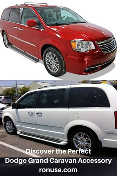 Our Dodge Grand Caravan Running Boards allow for easy step access for children and elderly adults. #dodgegrandcaravan