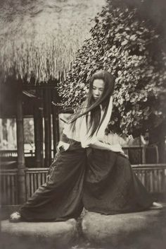 """Japan: """"In the earlier periods such as the Heian and Kamakura, there were female members of the samurai class who became prominent or even present on the battlefield. They were the exception and not the rule, but this doesn't mean that most women were powerless Onna-musha or women warriors were very unusual. The most famous women warriors were Tomoe Gozen and Hangaku Gozen. Bushi women were trained mainly with the naginata because of its versatility against all types of enemies and ..."""