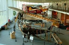 College Park Aviation Museum - a true hidden gem and a great place for birthday parties!