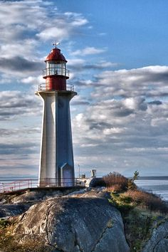 ✯ Point Atkinson lighthouse in lighthouse park, West Vancouver BC Canada