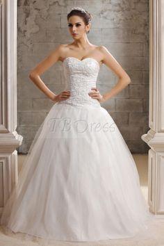 Marvelous A-line/Princess Sweetheart Floor-length Taline's Wedding Dress
