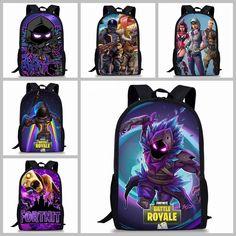 71dc3faa43e  Fortnite  BattleRoyale Backpack Bookbag Kids Boys Girls School Laptop  Travel Bag