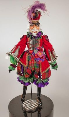 Mackenzie-Childs Christmas Nutcracker made by Katherines Collection, ebay, collection item