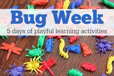 Toddler Approved!: Bug Week {Playful Learning Activities for Kids}