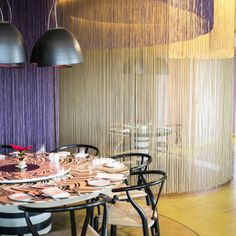 e97ec114bc1727 Privat and sophisticated ambiance drizzled in Rosita Missoni design at Luna  Restaurant