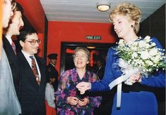 The National Children's Orchestras of Great Britain was formed in 1978 by Vivienne Price, MBE, who saw the need for talented children aged under 14 to have their own symphony orchestra   Diana, above, with Vivienne Perry, MBE