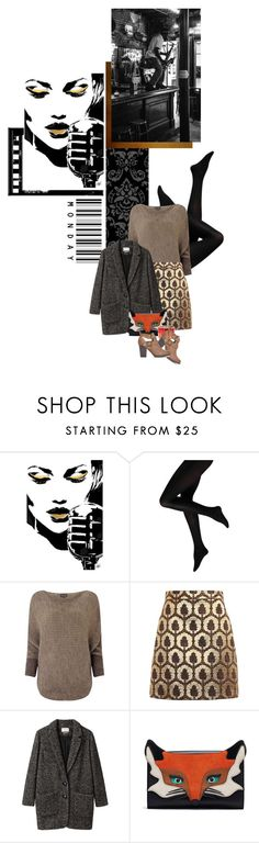 """Back to work day"" by redheadlass ❤ liked on Polyvore featuring Phase Eight, Gucci, Étoile Isabel Marant and Oscar de la Renta"
