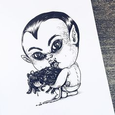 Baby Terrors: Famous Horror Characters As Babies