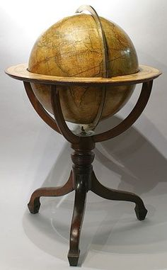 Mappemonde / Globe terrestre Cary