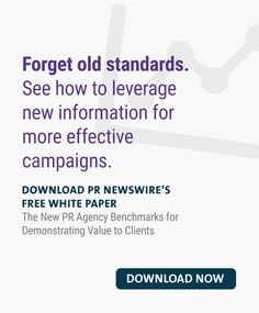 The New PR Agency Benchmarks for Demonstrating Value to Clients Content Marketing, Media Marketing, Pr Newswire, Blog Categories, Marketing Professional, Social Media Channels, White Paper, Campaign, Knowledge