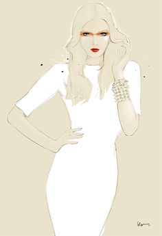 Floyd Grey Fashion Illustrations..love this stuff! Fashion/Art fusion!