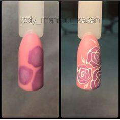 In look for some nail designs and ideas for your nails? Listed here is our list of 25 must-try coffin acrylic nails for fashionable women. Gel Nail Art, Acrylic Nails, Nail Polish, Get Nails, Hair And Nails, Uñas One Stroke, Nail Art Fleur, Kawaii Nails, Rose Nails