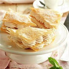 Pasta, Strudel, Peanut Butter, Mini Desserts, Flaky Pastry, Cup Cakes, Mille Feuille, Egg Yolks, Venezuela