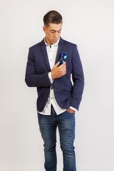 Tienda online | Moda mujer y hombre Americana Grove Jaspeada en color Azul Cobalto de Talenti Jeans Tienda online | Moda mujer y hombre