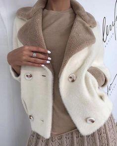 Women's Fashion Tops Online Shopping – Boutiquefeel Classy Outfits, Fall Outfits, Fashion Outfits, Womens Fashion, Knit Fashion, Tops Online Shopping, Winter Stil, Coat Dress, Winter Fashion