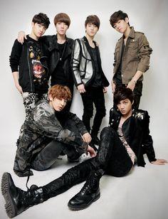 EXO at Osen Photoshoot