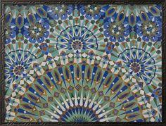 Photo about Oriental mosaic decoration in Casablanca, Morocco. Image of detail, culture, casablanca - 7589221 Art Encadrée, Complex Art, Framed Artwork, Wall Art, Stock Foto, Mosaic Wall, Moorish, Canvas Prints, Art Prints