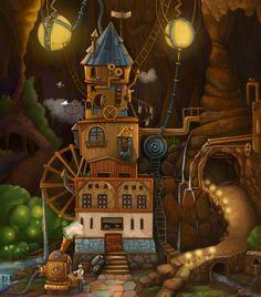 Steampunk and Junk • theartofanimation:  Anastasia Astasheva -...