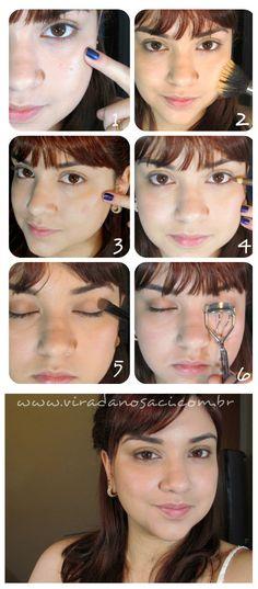 truques para conseguir o efeito sem maquiagem - mais em http://viradanosaci.com.br/beleza/fotorial-beleza/fotorial-efeito-sem-maquiagem/