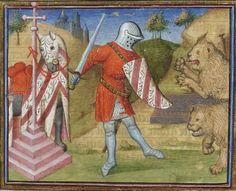 Lancelot-Graal. 3° « L'Ystoire Lancelot du Lac », la Quête du Saint Graal, la Mort d'Arthus de « GAUTIER MOAB ». Auteur : Maître des cleres femmes (13..-14..). Enlumineur Date d'édition : 1301-1400 Type : manuscrit Langue :Français Droits : domaine public Identifiant : ark:/12148/btv1b84920784