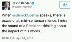 "Me too.  With this idiot of an orange man,  the same old words we always here out of that puckered asshole looking mouth is ""fake"", ""disaster "", ""believe me"", and ""bigly"".  Talk about a limited vocabulary.  At least it matches his intellect."