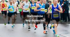 Does #exercise help #depression?
