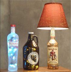 Amazing 15 Increíbles Ideas Para Renovar Viejos Objetos Que Tienes Olvidados. Bottle  LampsBottle ...