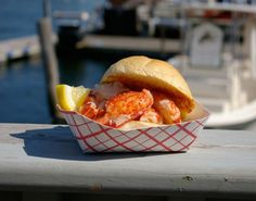 The lobster roll at Kennebunkport, Maine's Clam Shack. My mum has told me many stories about vacations there and walking to the clam shack!