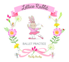 Lettice Rabbit loves to dance - in this book, she is practising her ballet steps...positions one to five and if you look carefully, you may spot some of her fairy friends joining in!