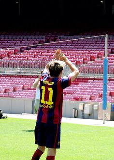 Niall with Barca