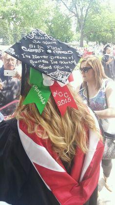 Mexican girl graduation cap