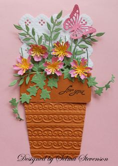 If you love paper flowers - you need to check Selma's site