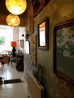 Pearl Lowe Paper Lantern Lights, Lanterns, Pearl Lowe, Gypsy Living, Queenslander, Studio 54, Hallway Ideas, Inspiration Wall, Jewel Box