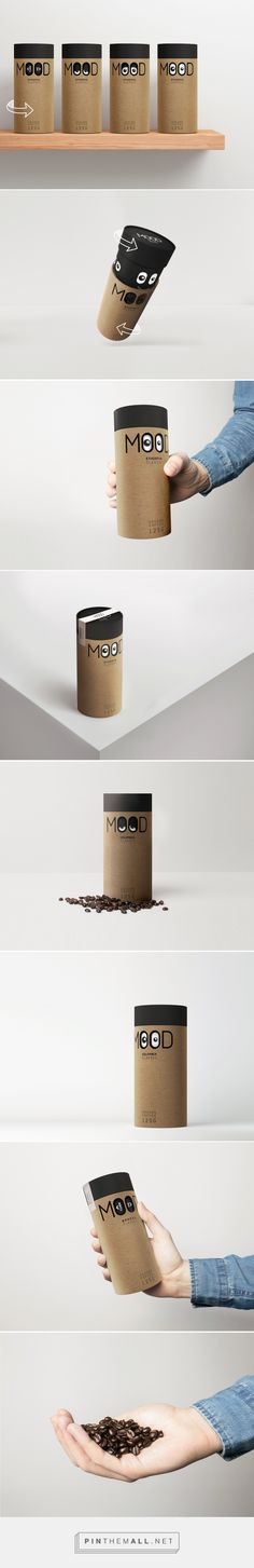 Mood Coffee packaging design concept by David Hovhannisyan - https://www.packagingoftheworld.com/2018/02/mood-coffee.html