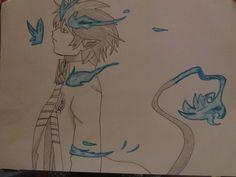 Rin of Blue Exorcist.