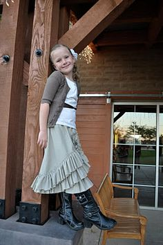 petticoat skirt tutorial | Little Birdie Secrets