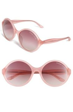 Christian Lacroix Oversized Round Sunglasses