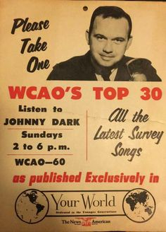 Johnny Dark (WCAO - Baltimore)