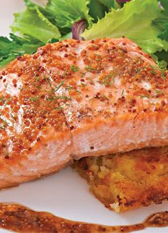 Oven Roasted Copper River Salmon
