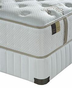 Stearns & Foster Queen Mattress Set, Core Vanna Luxury Firm - Queen Mattresses - mattresses - Macy's