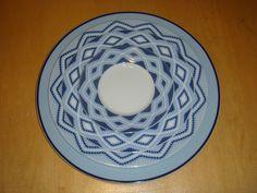 Mediterranean blue decor :Olbia Plates, Tableware, Blue, Decor, Licence Plates, Dishes, Dinnerware, Decoration, Griddles