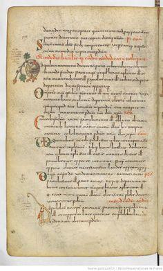 Sacramentarium gelasianum [Sacramentaire gélasien, dit de Gellone (Saint-Guilhem-le-Désert)].