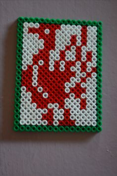 Liverbirds Liverpool YNWA Liverpool Bird, Sequencing Cards, Hama Beads Design, Peler Beads, Iron Beads, Fuse Beads, Bead Patterns, Xmas Gifts, Fabric Flowers